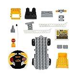 UnitedHeart 1801 Stadt Bau Bausteine Engineering Leiter 1/18 RC LKW Auto Bricks Lernspielzeug für Kinder Kinder Geschenke