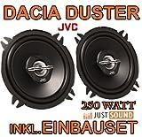 Dacia Duster - Lautsprecher - JVC CS-J520 - 13cm Koaxe