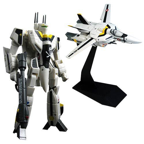 Robotech 30th Anniversary Roy Fokker VF-1S Transformable 1:100 Scale (Series 1) Action Figure by Toynami by Toynami