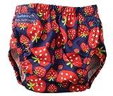 Konfidence Swim Nappy - one size - adjustable / reusable - Strawberry