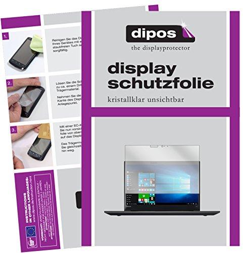 dipos I 2X Schutzfolie klar passend für Lenovo ThinkPad T570 Folie Bildschirmschutzfolie