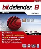 BitDefender 8 - Standard (1 Lizenz, 2 Installationen)