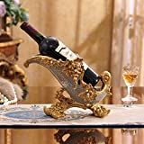 Www Weinregal, Resin-Prozess Wohndekoration Kreatives Wohnzimmer Weinschrank Dekoration Einfach Moderne Handwerk Geschenk Hausdekoration