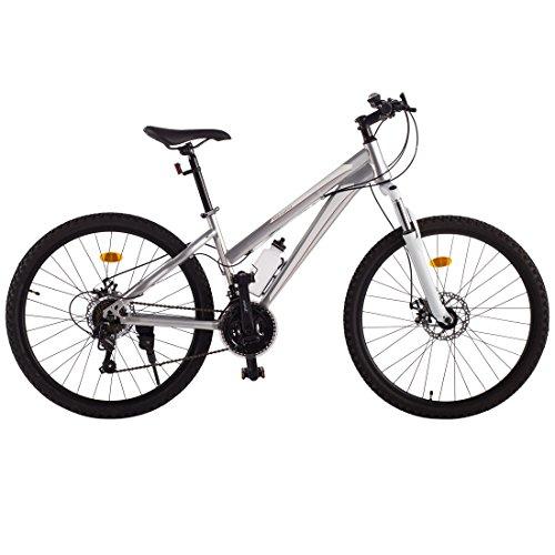 """Ultrasport 331100000190 Vélo tout terrain en aluminium pour fille, Argent, 26"""""""