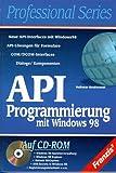 API-Programmierung mit Windows 98, m. CD-ROM