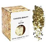 Klobiger Glitzer in 24 Karat Gold // Karizma Beauty Festival Glitter Gesicht glitzern Karosserie Haar Kosmetisch 30g