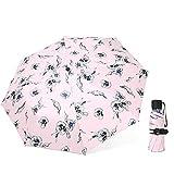 LYJZH Regenschirm Taschenschirm, kompakter tragbarer,geeignet für Männer und Frauen...