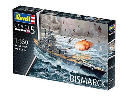 Revell 05040 – Battleship Bismarck - 18