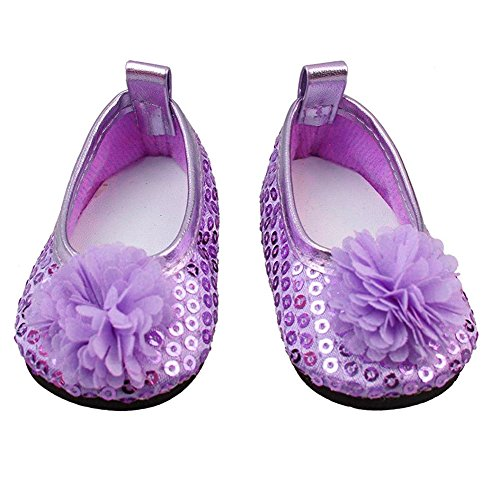 819aedf813b547 Ndier Glitter Doll Shoes Shoes Dress Dress For 18 Inch Our American Girl  Doll 1 Pair