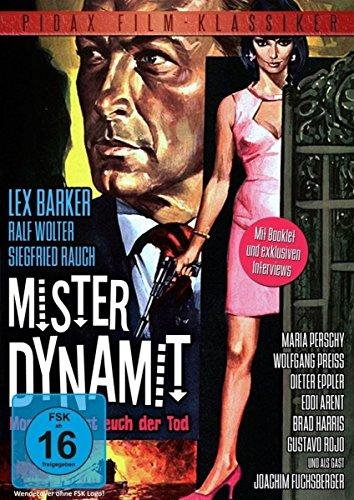Mister Dynamit - Morgen küsst euch der Tod / Großartiger Thriller mit Lex Barker, Ralf Wolter, Siegfried Rauch und Eddi Arent (