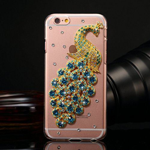 Für IPhone 6 / 6s Diamond verkrustete Juwel Fox Pattern PC Schutzhülle Back Cover DEXING ( SKU : IP6G1006E ) IP6G1006H