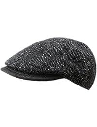 Schicke Flatcap von Bugatti im Tweed Look für jeden Anlass
