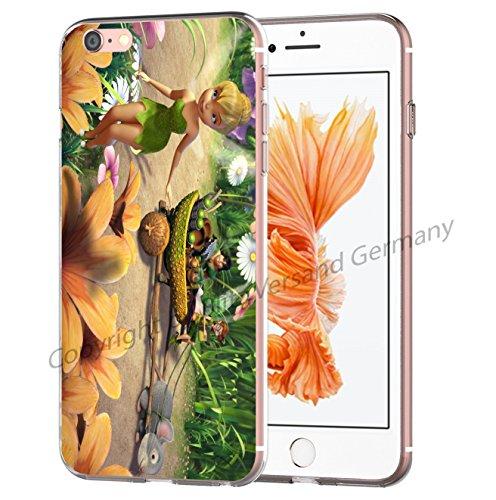 Blitz® Fée Clochette motifs housse de protection transparent TPE iPhone M4 iPhone 6 6s M15