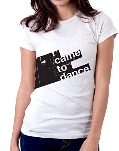 T-shirt - I came to dance - tutte le taglie uomo donna maglietta by tshirteria bianca