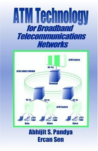 ATM Technology for Broadband Telecommunications Networks 1st edition by Pandya, Abhijit S., Sen, Ercan (1998) Hardcover