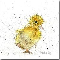 Fluffy Chick biglietto d'