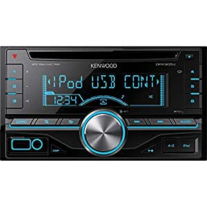 Kenwood Double DIN CD/USB AUX Receiver with Direct Control for iPod/iPhone and Variable Colour Illumination