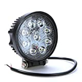 #8: AllExtreme Flood Beam Auxiliary LED Lamp for Cars and Bikes (27W)