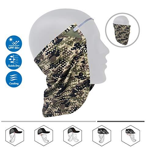 CoolNES Patente Cubre Cara Cuello   Bandana Multifuncional