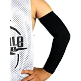 Kids Youth Junior Size Elixir Sports UV Protection Arm Sleeve Cover Sports Golf 1 Pair