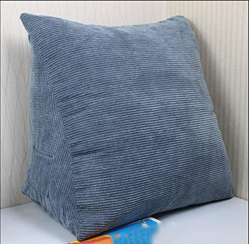 lhl-almohadas de remplissage Standard côté de la grand lit matelassé du dossier triangulaire oreiller lombaire normale Amortisseur de la plaquette du Amortisseur du canapé linge de lit/canapé/oreiller lombaire