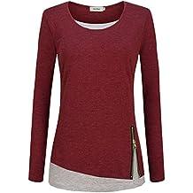 huge selection of c0005 ecbbc Suchergebnis auf Amazon.de für: Damen-Pullover, weinrot ...