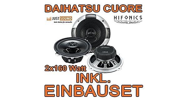 { Hifonics 130mm Lautsprecher TRITON TR52 Lautsprecher 13cm 2 Wege Koax