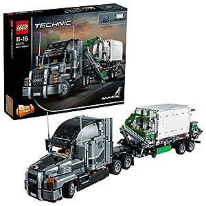 LEGO- Technic Mack Anthem Set di Costruzioni 2 in 1 con Motore a 6 Cilindri in Linea, Ricco di Dettagli Tecnici, per…  LEGO