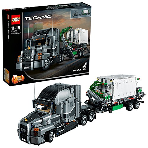 LEGO 42078 Technic Mack Anthem Toy Truck Replica, 2 in 1 Model, Advanced Construction Set