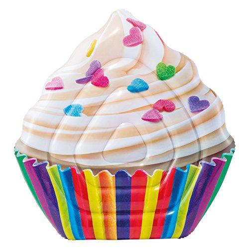 Intex Colchoneta hinchable Cupcake, 135 x 142 cm (58770)
