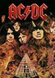 AC/DC: AC/DC Highway to Hell / Flames Posterflagge (Zubehör)