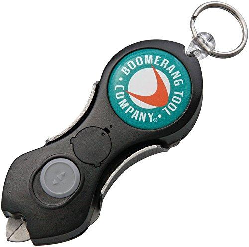 Boomerang Tool Snip Angelschnur Cutter mit LED schwarz -