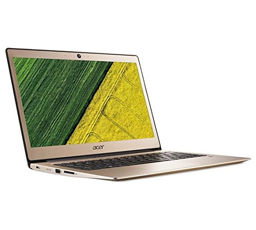Acer Swift 1 SF113-31 LCD Notebook - (Gold) (Intel Pentium N4200 4 GHz Processor, 4 GB RAM, 128 GB SDD, Windows 10 Home)