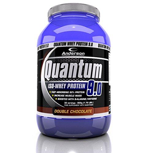 Integratore Anderson Quantum 9 2000 g NEW CHOCOLATE FUDGE Proteine del siero isolate Whey Protein WPI 90%