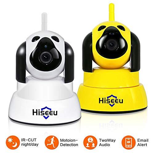 LYXLQ Handy-Monitor-Kamera, HD Intelligent Network Wireless WiFi Home 2 Millionen Pixel Überwachungskamera unterstützt eine Vielzahl von Geräten (2 Stück)