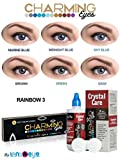 #5: Charming Eyes One-day Rainbow Zeropower Contact Lens with Free Lens Care Kit (12 Lens Pack)