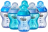 Tommee Tippee Colour My World Feeding Bottles 260ml/9oz (Blue) x 6