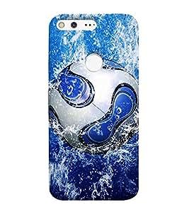 Print Masti Designer Back Case Cover for Google Pixel (Background Attractive Water )