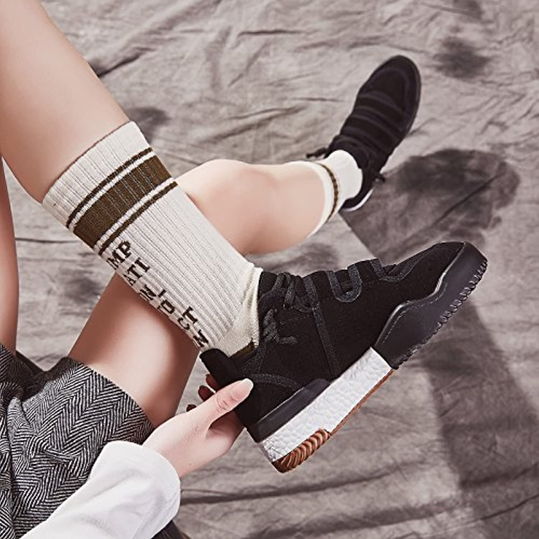 GUNAINDMXWomen'S Shoes/Spring/Autumn/New/Canvas Shoes/Sports Shoes,Thirty-Seven,Black  Venta de calzado deportivo de moda en línea
