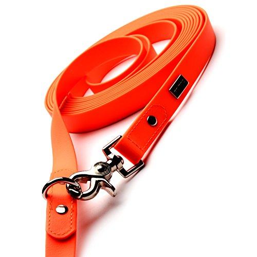 PetTec Schleppleine 10m aus Trioflex – Hundeleine in Orange - 2