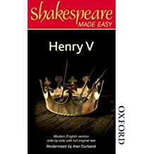 Shakespeare Made Easy - Henry V by Alan Durband (2014-11-01)
