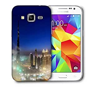 Snoogg Storm In The City Printed Protective Phone Back Case Cover For Samsung Galaxy Core Plus G3500