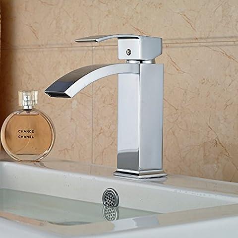 LYNDM  Cascata il lavandino del bagno rubinetto Cromato bacinella