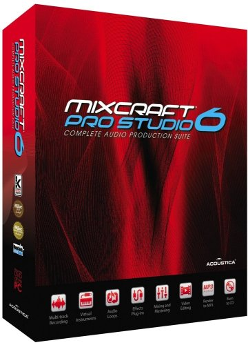 Acoustica Mixcraft Pro Studio 6 (Mixcraft 7)