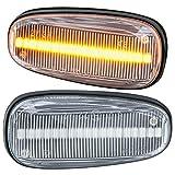 rm-style LED SEITENBLINKER kompatibel für alle OPEL Astra G | OPEL Zafira A | KLARGLAS [71011]