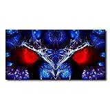 Bild auf Leinwand - abstrakte moderne Kunst - Keilrahmenbild Kunstdruck limitierte Edition - Wandbilder direkt vom Künstler - Leinwandbild Wohnung Wohnzimmer Deko