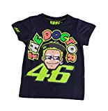Valentino Rossi Kids T-Shirt 46 The Doctor navy, 10-11