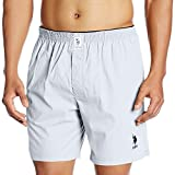 US Polo Association Men's Cotton Boxer (8907686184456_I108_X-Large_White)