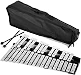 Mirage GL30 30 Note Chromatic Glockenspiel with Beaters and Carry Case - Black