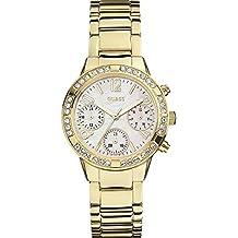 Guess W0546L2 - Reloj de pulsera para mujer, color blanco / plata